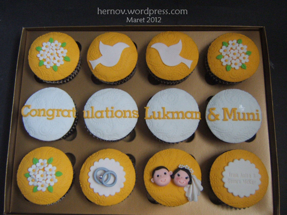 Lukman-Muni's Wedding GiftsetCupcakes