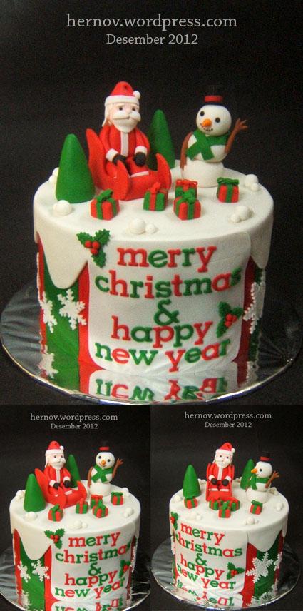 Bunga's CHRISTMAS Cake