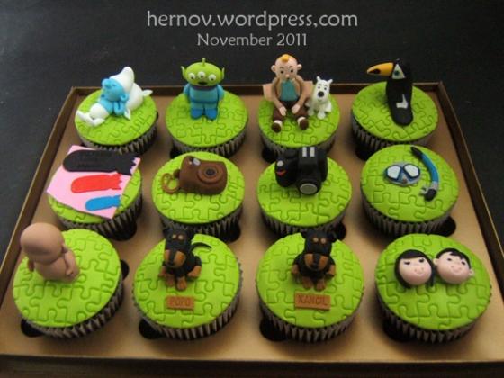 Eta's Personalize Birthday Cupcakes