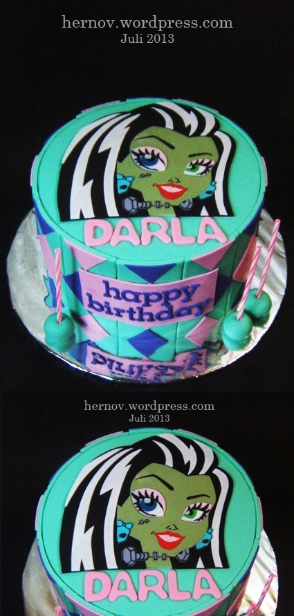 Darla's MONSTER HIGH Birthday Cake
