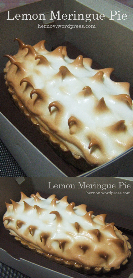 Pak Dika's Lemon Meringue Pie