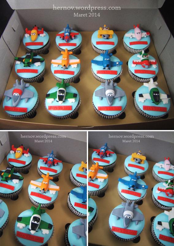 Arya's PLANES BirthdayCupcakes