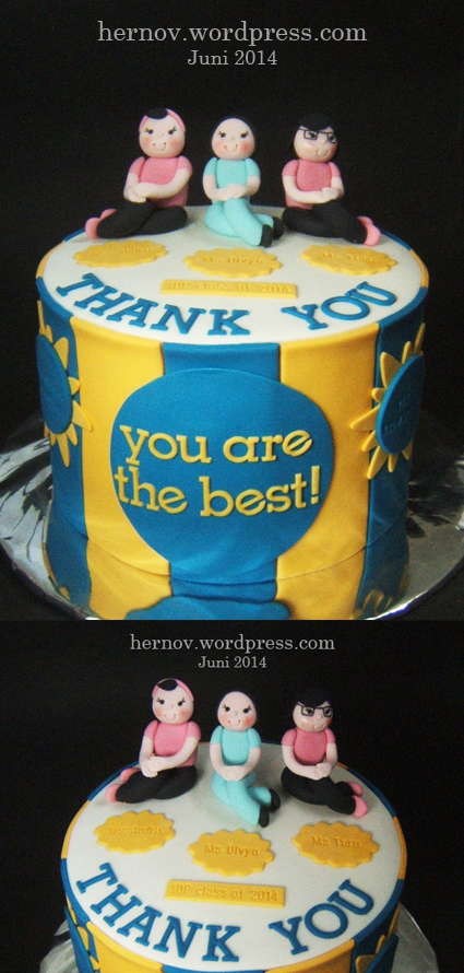 Dio's THANK YOU Cake (2)